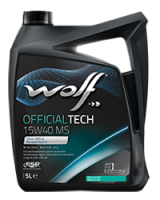 Wolf OfficialTech 15W40 MS 20 L