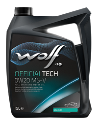 Wolf OfficialTech 0W20 MS-V