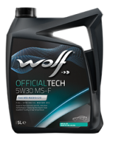 Wolf OfficialTech 5W30 MS-F 205 L