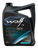 Wolf OfficialTech 0W20 MS-V 1 L
